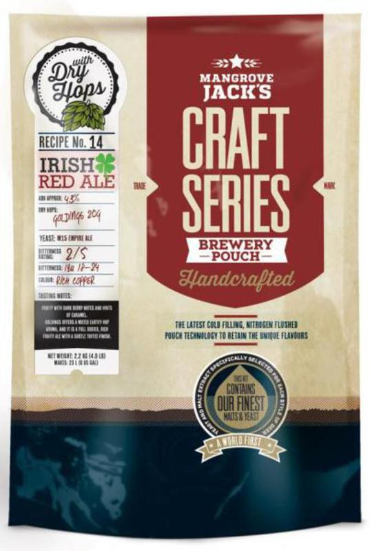 Mangrove Jack's Craft Series Irish Red Ale