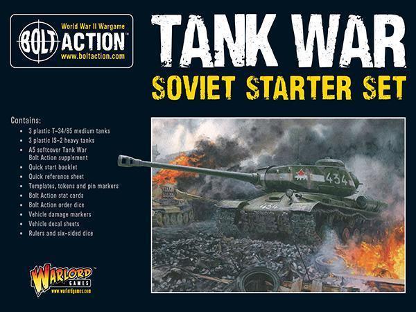 Tank War: Soviet Starter Set