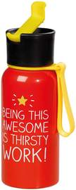 Happy Jackson Water Bottle - Being This Awesome