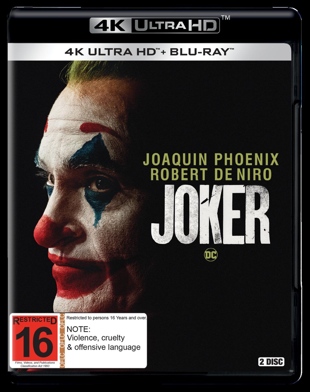 Joker on UHD Blu-ray image