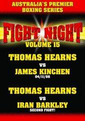 Fight Night - Vol. 15: Thomas Hearns vs Kinchen/Barkley on DVD