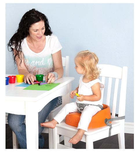 Bumbo Booster Seat - Blue image