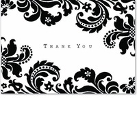 Shadow Tapestry Thank You Notes (14 Cards/Envelopes)