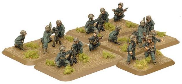 Flames of War USMC Mortar Platoon