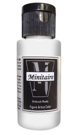 Badger: Minitaire Acrylic Paint - Chrome Silver (30ml)