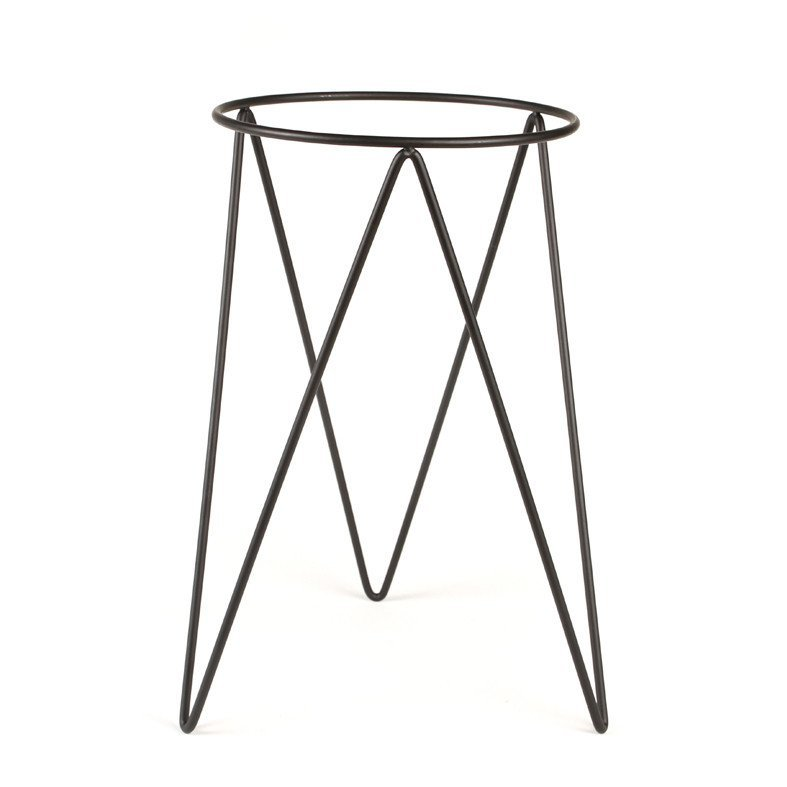Bendo Plant Luxe Pot Plant Stand Black At Mighty Ape Nz