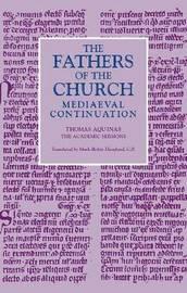 The Academic Sermons by Thomas Aquinas image