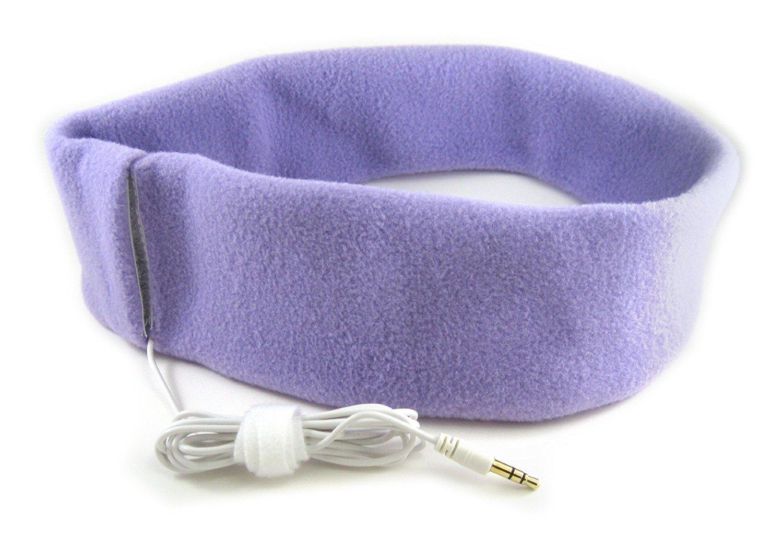 SleepPhones: Classic Lavender Fleece - Small image