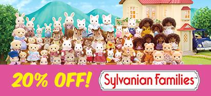 20% off Sylvanian Families