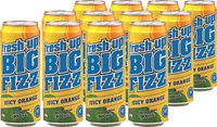 Fresh Up Big Fizz Juicy Orange 500ml x12