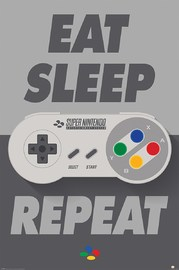 Nintendo (Eat Sleep SNES Repeat) (697)