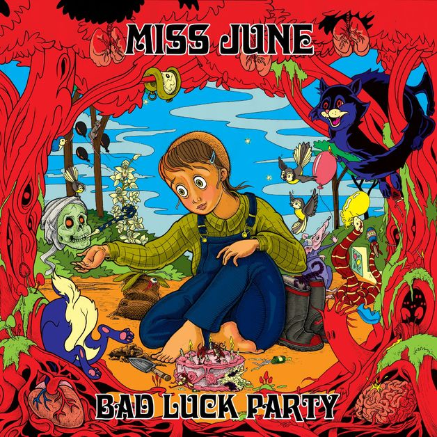Bad Luck Party (Electric Blue Vinyl) by Miss June