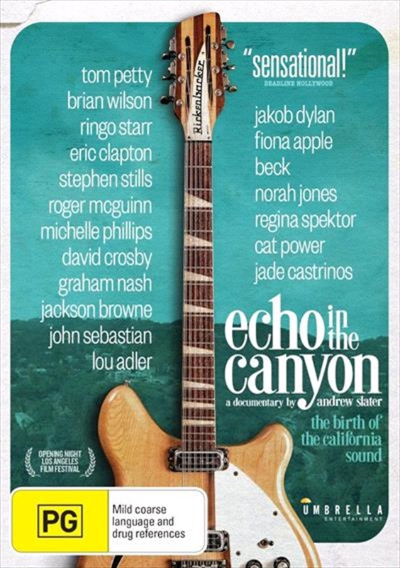 Echo In The Canyon on DVD