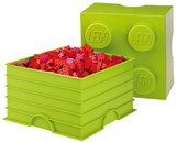 LEGO Storage Brick 4 (Lime Green)