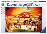 Ravensburger 3000 Piece Jigsaw Puzzle - Proud Massai