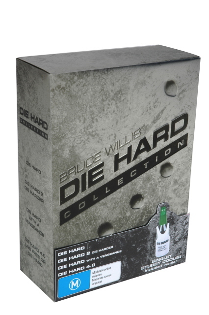 Die Hard Collection - Limited Edition (8 Disc Box Set) on DVD