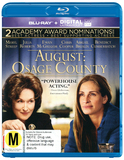 August: Osage County on Blu-ray, UV
