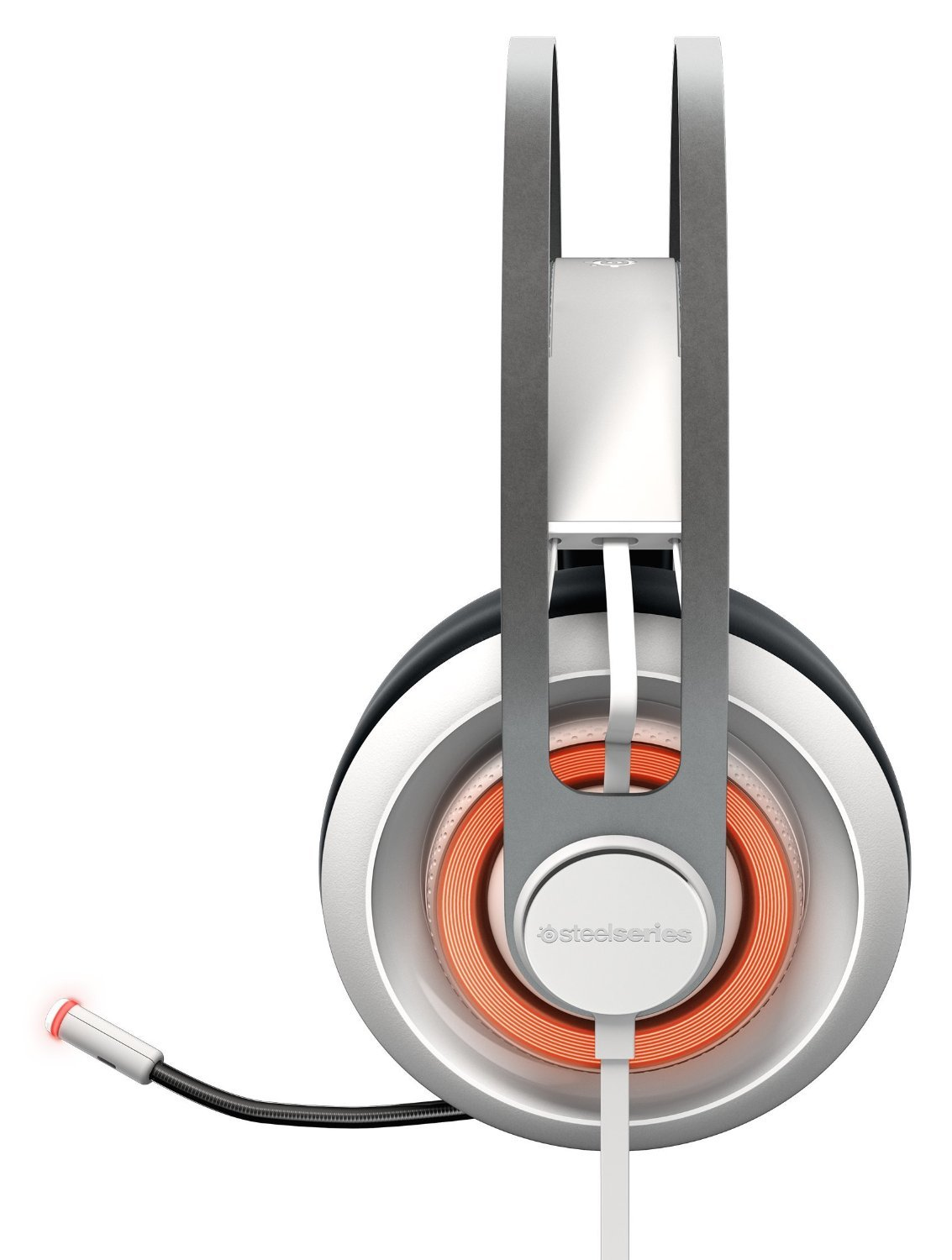 Steel Series Siberia 650 Gaming Headset - White for PC Games image