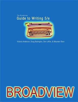 The Broadview Guide to Writing by Doug Babington image