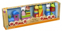 Orange Tree Toys: Animal Puzzle Train