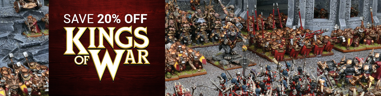 Wargame of the Month: Kings of War!