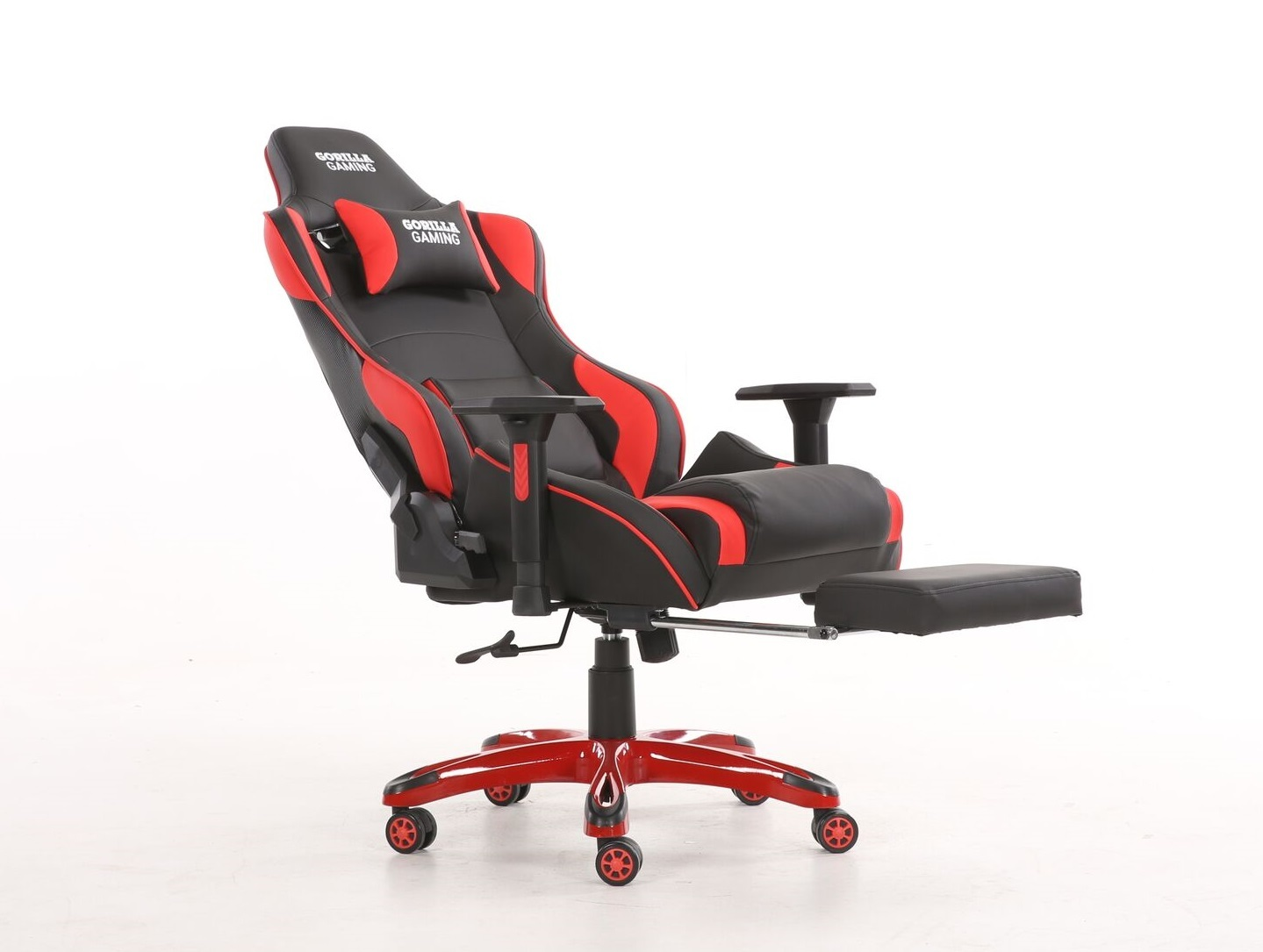 Gorilla Gaming Prime Ape Chair - Red & Black for  image