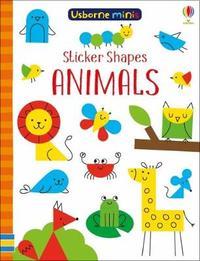 Sticker Shapes Animals x5 by Sam Smith