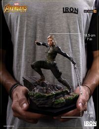 Marvel: 1/10 Black Widow - Battle Diorama Statue image