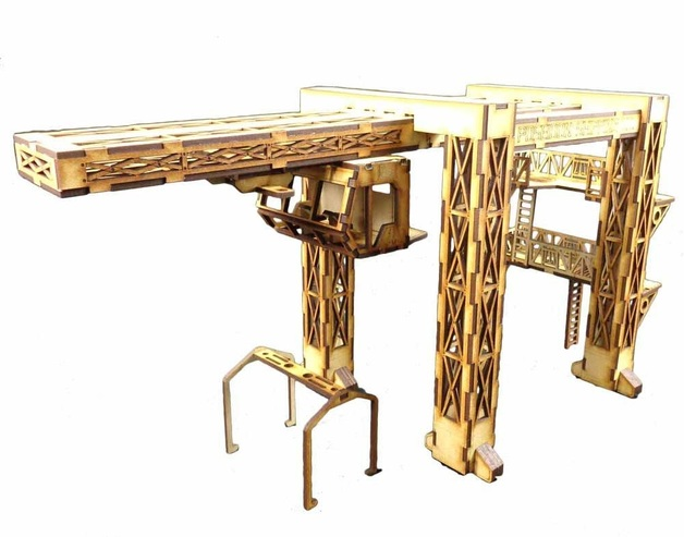 TTCombat: Tabletop Scenics – Dock Crane
