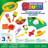 Crayola: Dough Activity Set - Ice Cream Parlor