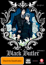 Black Butler (Kuroshitsuji) Collection 2 (2 Disc Set) on DVD