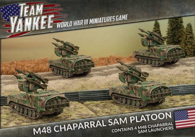 Team Yankee: M48 Chaparral SAM Platoon