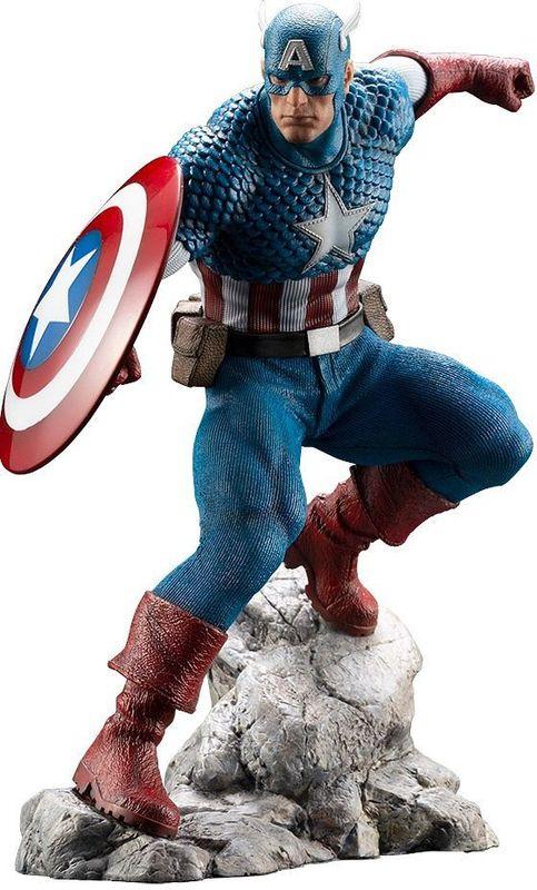 ArtFX Premiere: 1/10 Captain America - PVC Figure