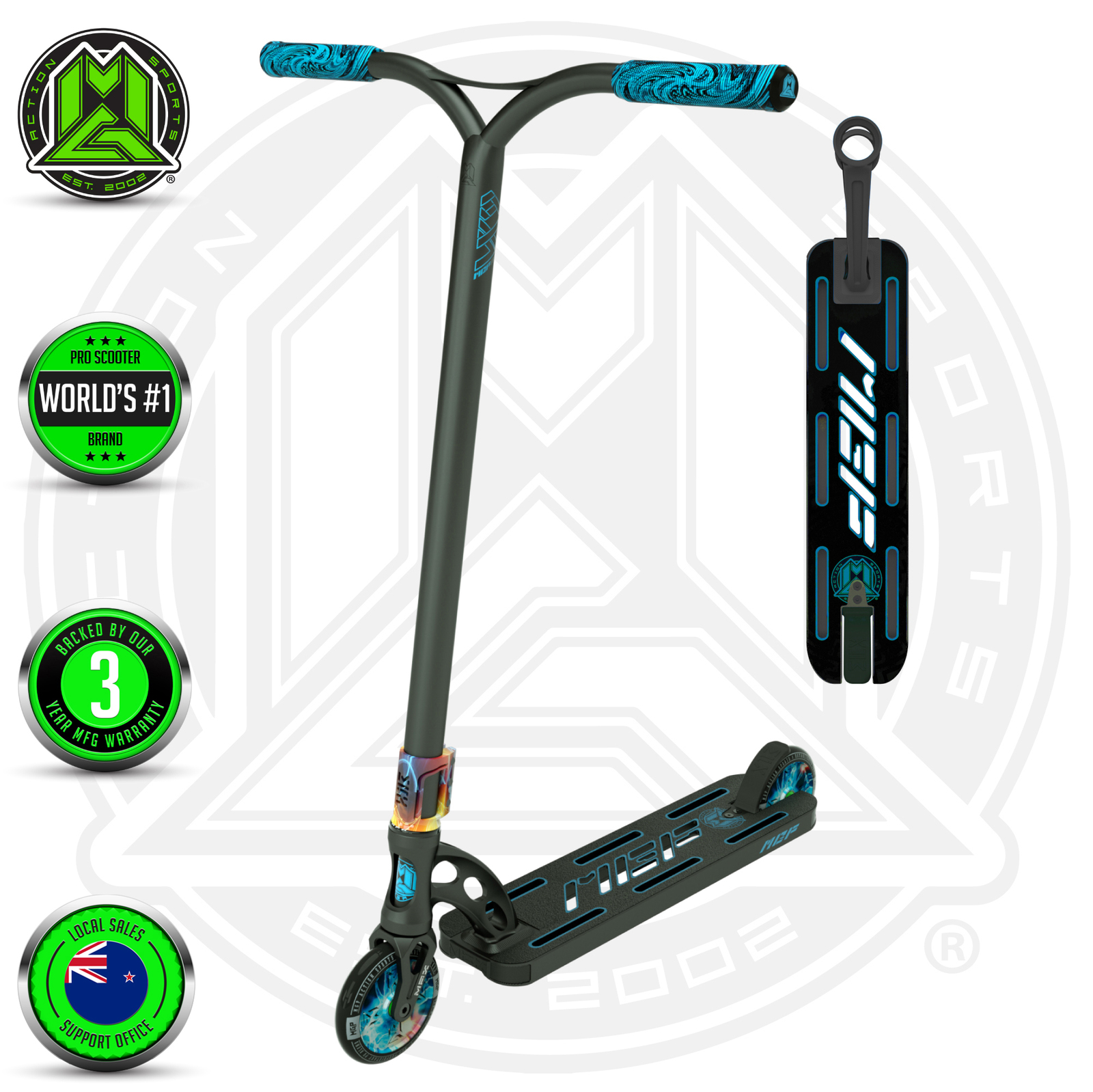 MADD Gear: VX9 Extreme Scooter - Proton image