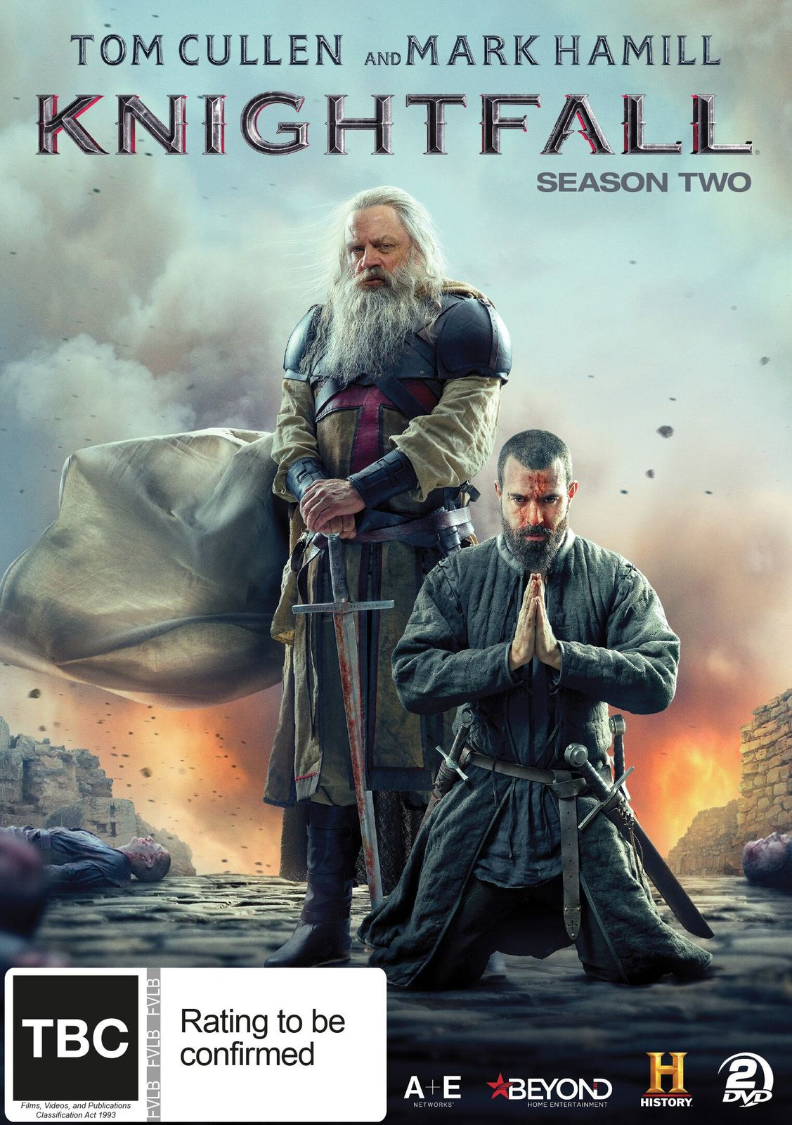 Knightfall - The Complete Second Season on DVD image