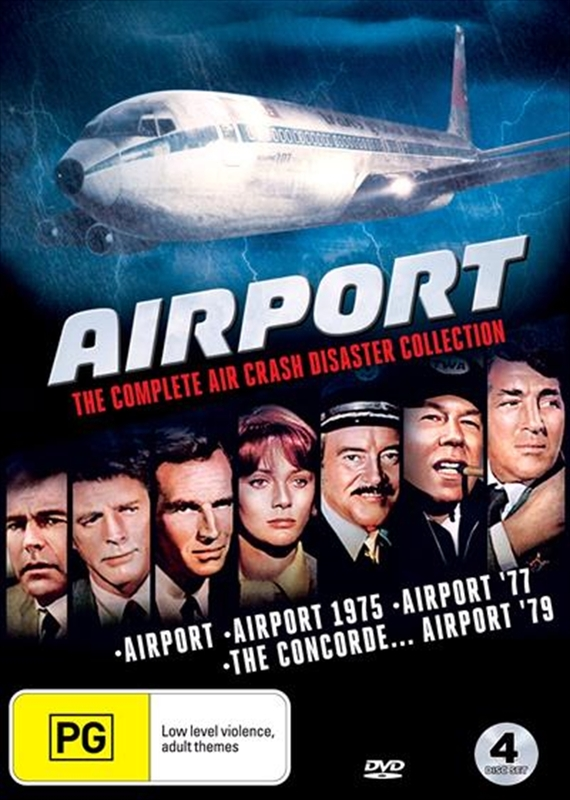 Airport: The Complete Air Crash Disaster Collection on DVD