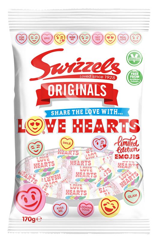 Swizzels Originals Love Hearts 170g