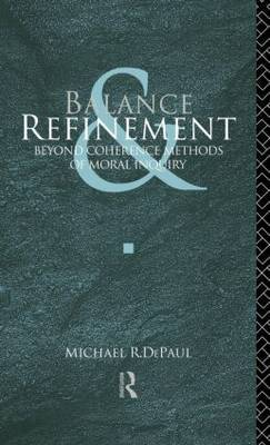 Balance and Refinement by Michael R DePaul image