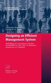 Designing an Efficient Management System by Tanachart Raoprasert
