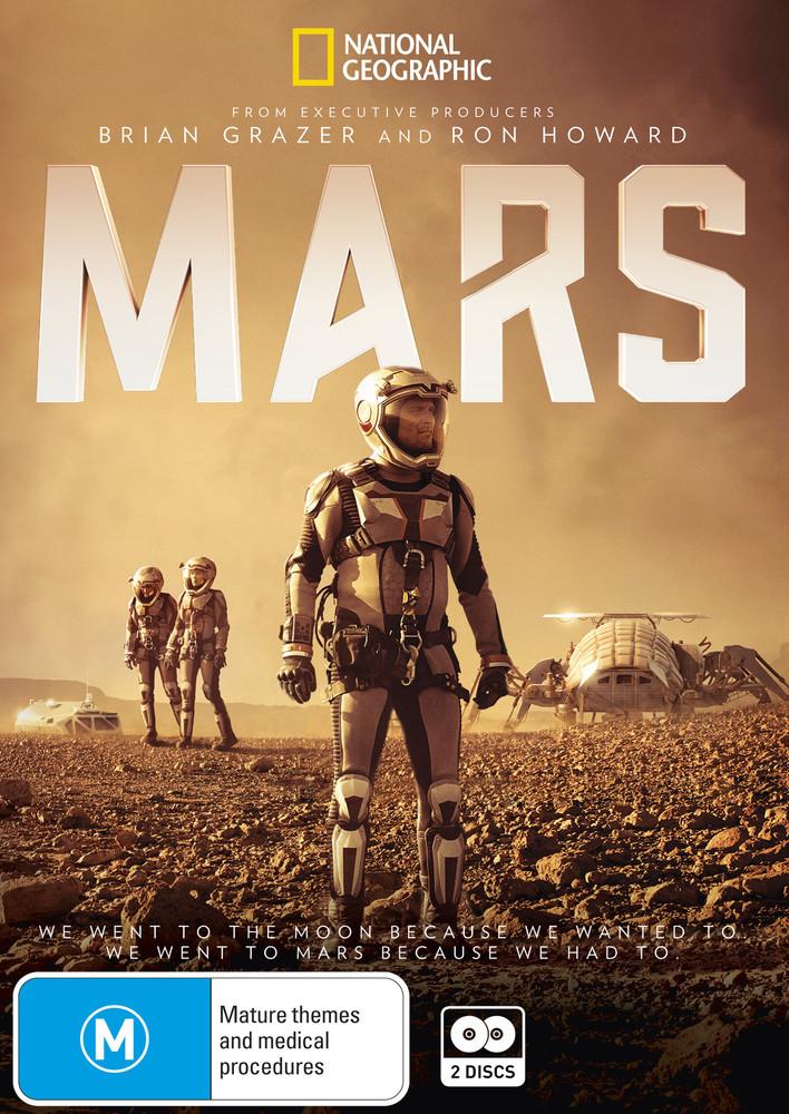 Mars on DVD image