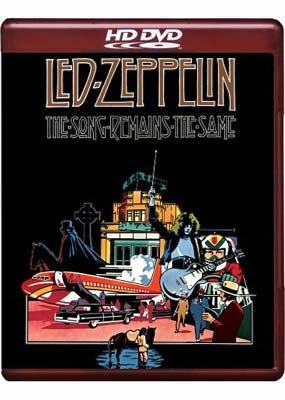 Led Zeppelin - The Song Remains The Same on HD DVD image