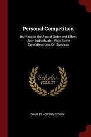 Personal Competition by Charles Horton Cooley image