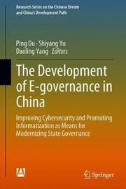 The Development of E-governance in China