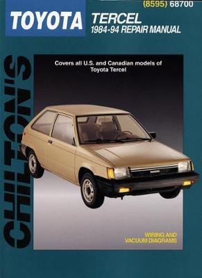 Toyota Tercel (84 - 94) by Chilton Automotive Books
