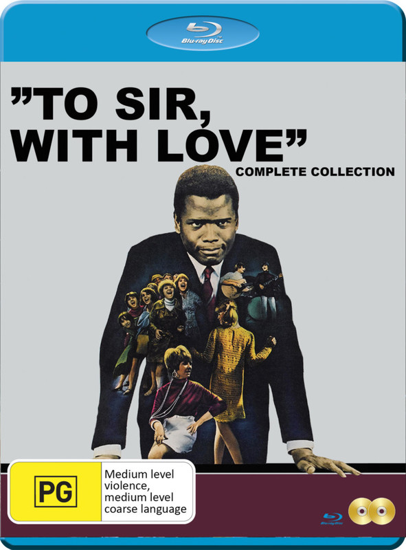 To Sir With Love Collection on Blu-ray