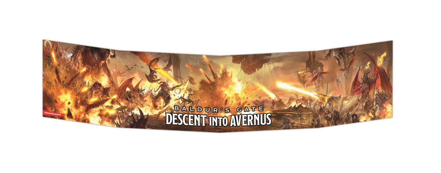 D&D Baldurs Gate Descent into Avernus DM Screen image