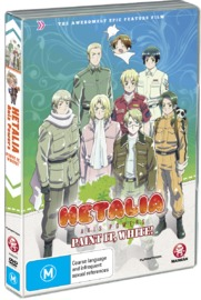 Hetalia Paint it White - The Movie on DVD