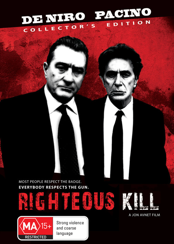 Righteous Kill on DVD