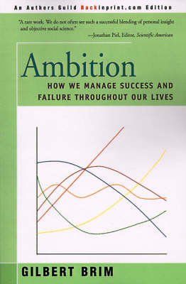 Ambition by Gilbert Brim