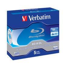 Verbatim BD-R DL 50GB 5pk JC 6x